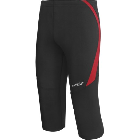 Saucony Inferno 3/4 Fitted Tights - UPF 50+ (For Men)