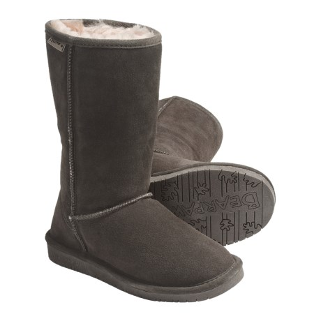 "Bearpaw Emma Winter Boots - 10"", Suede, Sheepskin-Lined (For Women)"