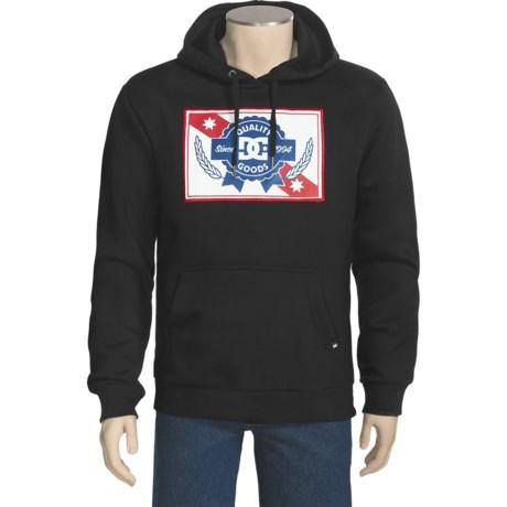 DC Shoes Hound Pullover Hoodie Sweatshirt - Fleece (For Men)