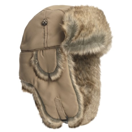 Mad Bomber® Lil' Supplex® Faux-Fur Aviator Hat - Recycled Materials (For Kids)