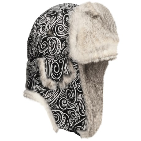 Mad Bomber® Lil' Aviator Hat - Rabbit Fur, Recycled Materials (For Kids)
