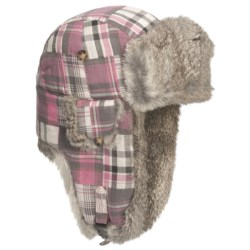 Mad Bomber® Aviator Hat - Rabbit Fur, Insulated (For Men and Women)