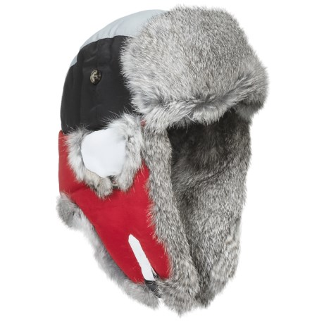 Mad Bomber® Team Color Block Aviator Hat - Rabbit Fur, Insulated (For Men and Women)