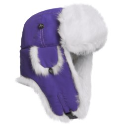 Mad Bomber® Supplex® Nylon Aviator Hat - Rabbit Fur (For Men and Women)