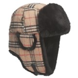 Mad Bomber® Wool Aviator Hat - Rabbit Fur, Insulated, Recycled Materials (For Men and Women)