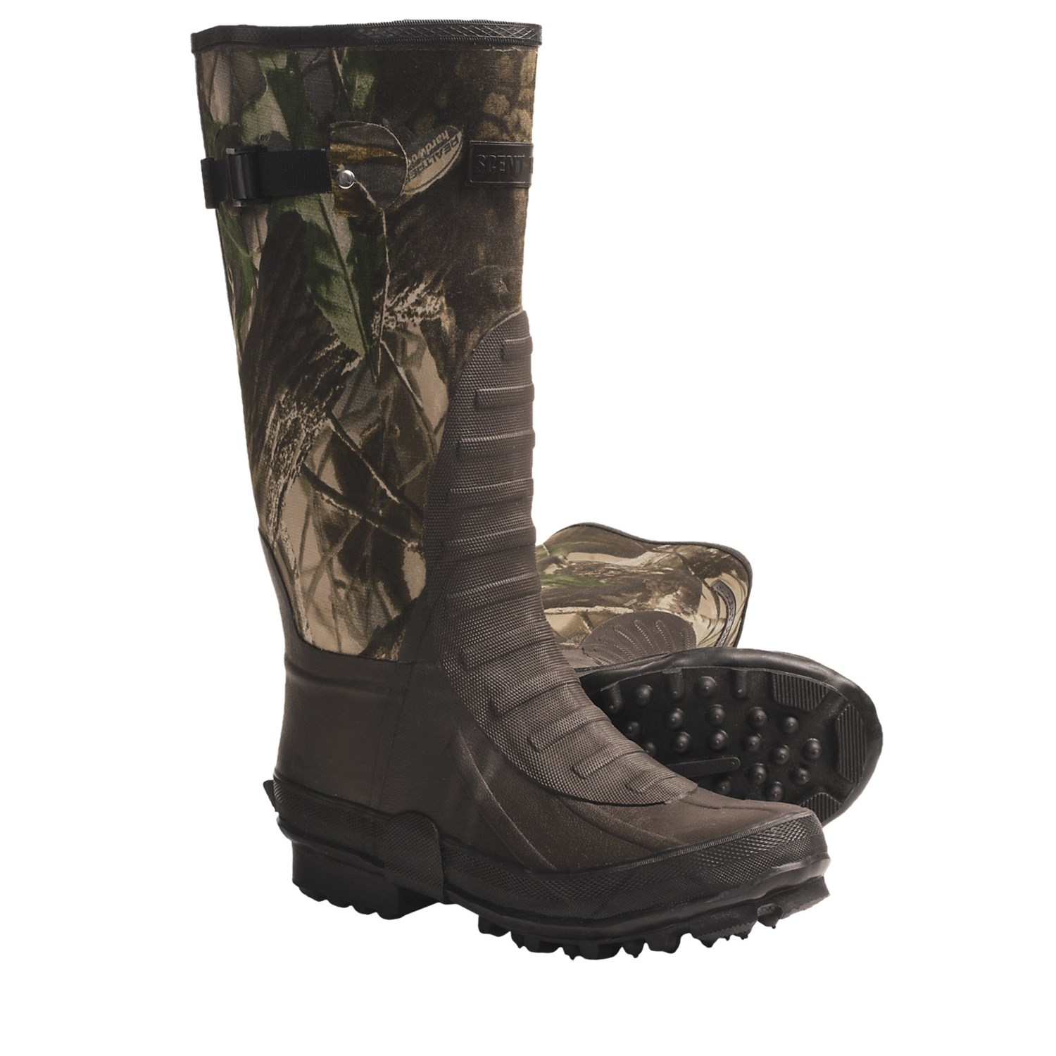 Itasca Swampwalker Rubber Hunting Boots For Men 4629x