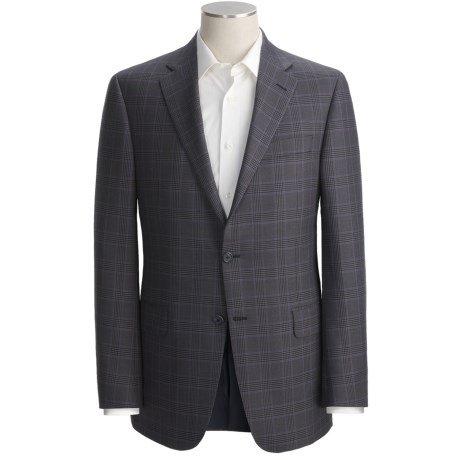 Hickey Freeman Plaid Sport Coat - Silk-Worsted Wool (For Men)
