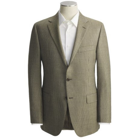 Hickey Freeman Multi-Check Sport Coat - Silk-Worsted Wool (For Men)