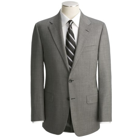 Hickey Freeman Nailhead Suit - Lindsey Model, Worsted Wool (For Men)