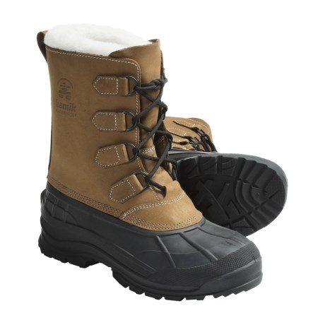 Kamik Eagle River Winter Pac Boots - Insulated (For Men)