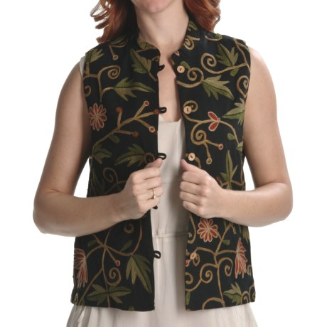 Orvis Crewelwork Vest (For Women)