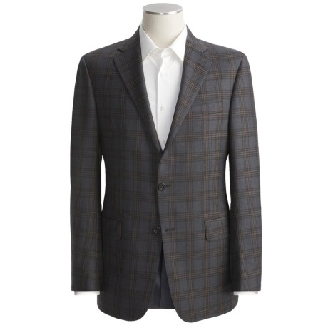 Hickey Freeman Plaid Sport Coat - Worsted Wool (For Men)