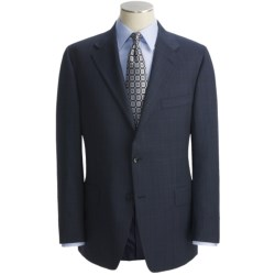 Hickey Freeman Subtle Windowpane Overlay Suit - Worsted Wool (For Men)
