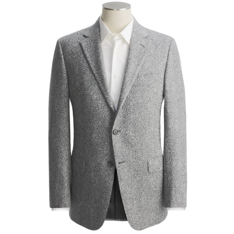 Hickey Freeman Fancy Sport Coat - Worsted Wool-Cashmere (For Men)