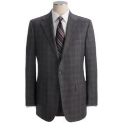 Hickey Freeman Tonal Windowpane Suit - Worsted Wool (For Men)