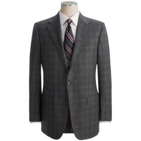 Hickey Freeman Tonal Windowpane Suit - Worsted Wool (For Men)