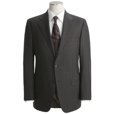 Hickey Freeman Double-Beaded Stripe Suit - Worsted Wool (For Men)