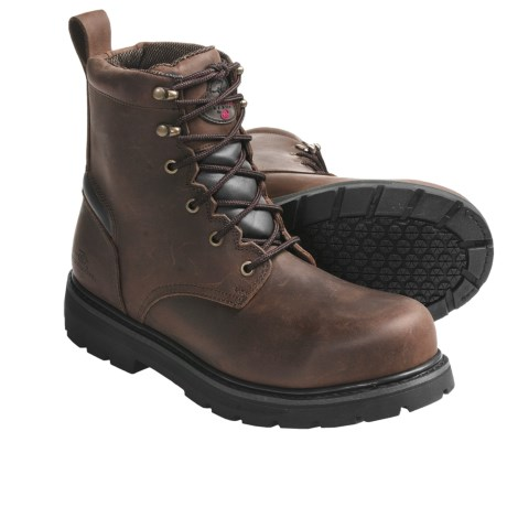 """Winchester Steel Toe Work Boots - 6"""" (For Men)"""