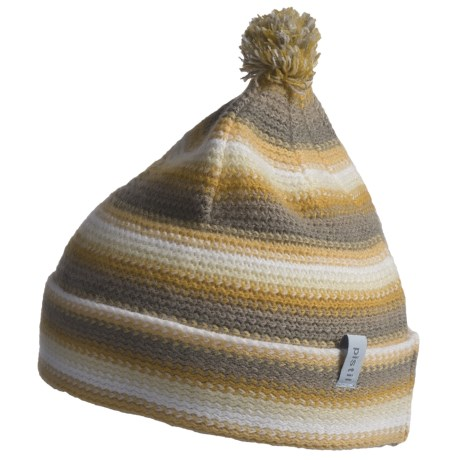 Pistil Lucky Striped Knit Beanie Hat (For Girls)