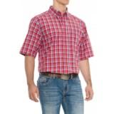 Ariat Pro Series Cedric Shirt - Short Sleeve (For Tall Men)