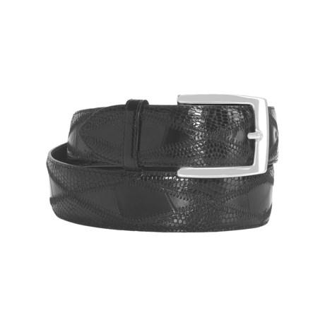 Di Stefano DiStefano Diamond-Stitched Belt - American Alligator Leather, 39mm (For Men)