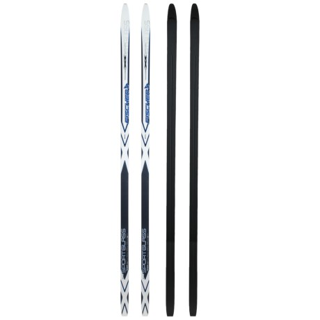 Fischer Sport Glass Classic Cross-Country Touring Skis - Waxable