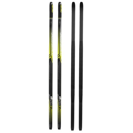 Fischer Orbiter Classic Cross-Country Touring Skis - NIS Mounting Plate