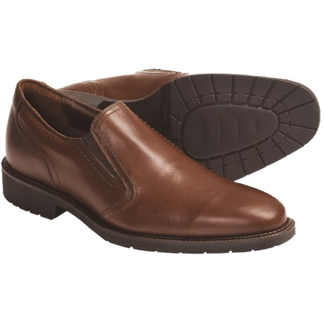 Neil M Atlanta Plain-Toe Shoes - Leather, Slip-Ons (For Men)