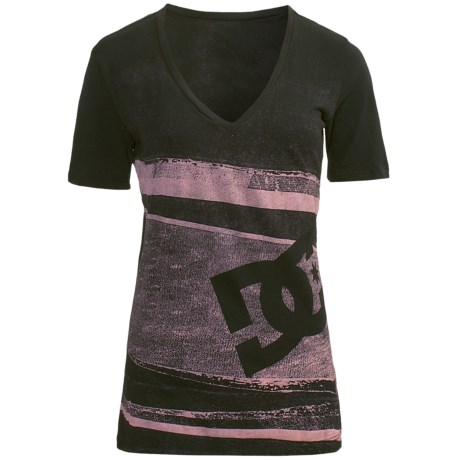 DC Shoes Slice Bread T-Shirt - Cotton Jersey, Short Sleeve (For Women)