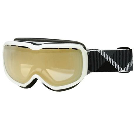 Scott Aura Snowsport Goggles - Light Sensitive Bronze Chrome Lens (For Women)