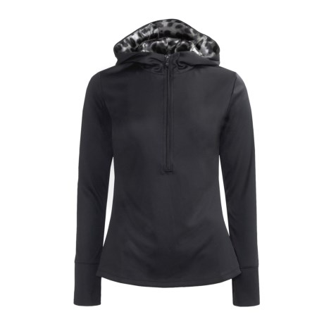 Obermeyer Elsa Hoodie Sweatshirt - Zip Neck, Recycled Materials (For Women)