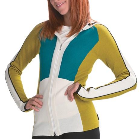 Obermeyer Ivana Hooded Sweater - Full Zip (For Women)