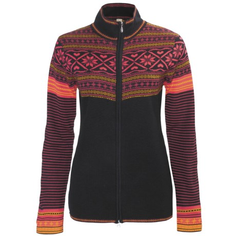 Obermeyer Phoebe Sweater - Full Zip, Long Sleeve (For Women)