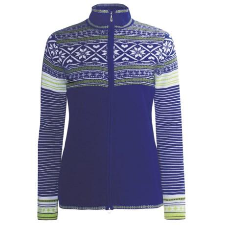 Obermeyer Phoebe Sweater - Full Zip, Long Sleeve (For Women)