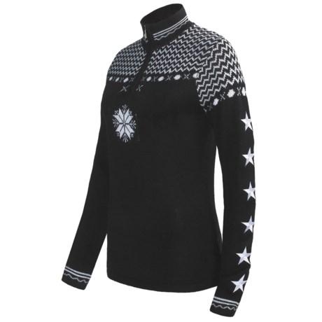 Obermeyer Eve Sweater - Zip Neck, Wool Blend (For Women)