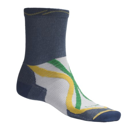 Lorpen Tri-Layer Ultralight Trail Running Socks - TENCEL®-CoolMax®, Crew (For Men and Women)