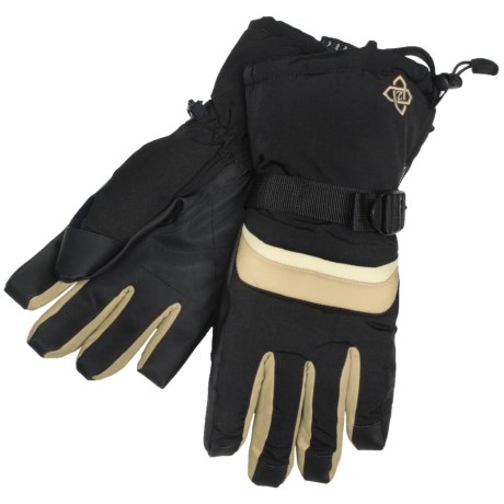 Zero Boundary Gloves - Waterproof, Insulated, Removable Liner (For Men)