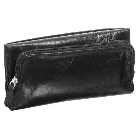 Latico Trifold Leather Wallet (For Women)