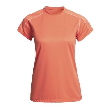 White Sierra Swamp Shirt - UPF 30, Insect Shield®, Short Sleeve (For Women)