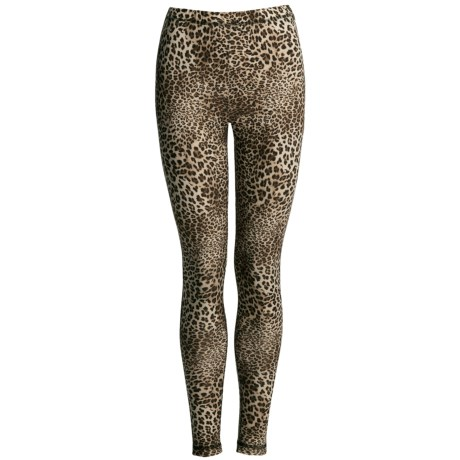 Sno Skins Microfiber Print Leggings (For Women)