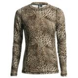 Sno Skins Microfiber Print T-Shirt - Long Sleeve (For Women)