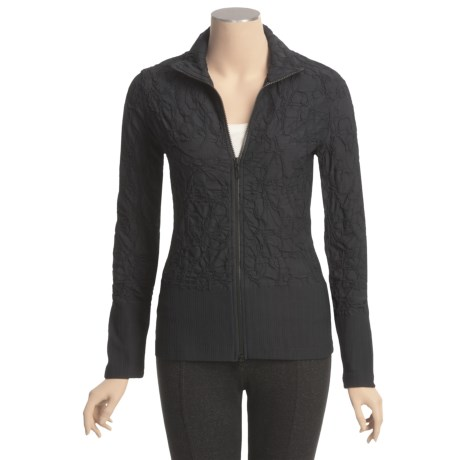 Sno Skins Baroque Jacquard Sport Jacket - Zip Front, Long Sleeve (For Women)