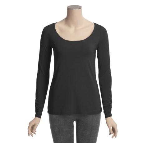 Sno Skins Micro-Cashmerette Shirt - Long Sleeve (For Women)