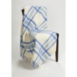 Moon York Check Throw Blanket - New Wool