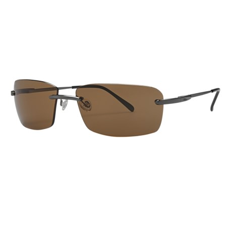 Serengeti Parma Sunglasses - Polarized, Photochromic, Polar PhD Lenses