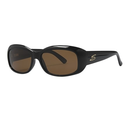 Serengeti Bianca Sunglasses - Polarized Glass Lenses (For Women)