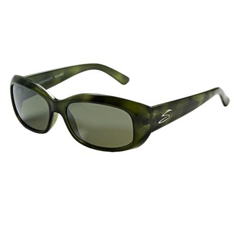 Serengeti Bianca Sunglasses - Polarized Glass Lenses (For Women)