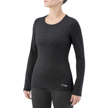Saucony LX Scoop Shirt - Long Sleeve (For Women)