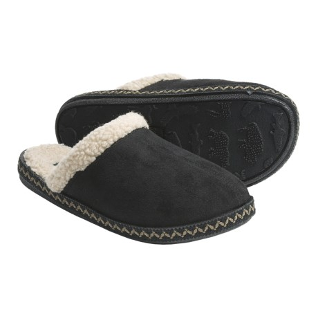 Woolrich Sugarberry Slippers - Microsuede, Sherpa-Lined (For Women)