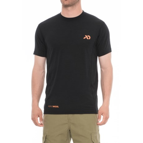 First Lite Minaret T-Shirt - Merino Wool, Crew Neck, Short Sleeve (For Men)
